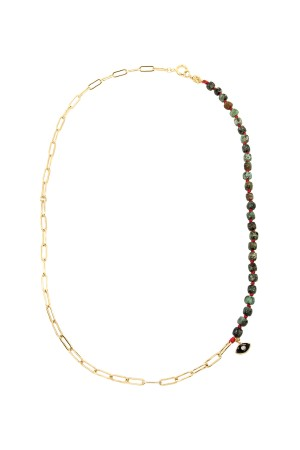 PLAYGROUND - COBBLE - Natural Turquoise Necklace