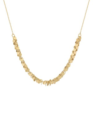 COMFORT ZONE - COINS - Short Coin Chain Necklace