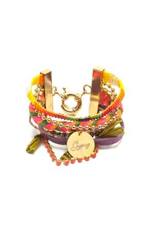 PLAYGROUND - COLORFUL GYPSY - Multilayered Bracelet