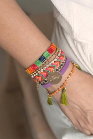 PLAYGROUND - COLORFUL GYPSY - Multilayered Bracelet (1)