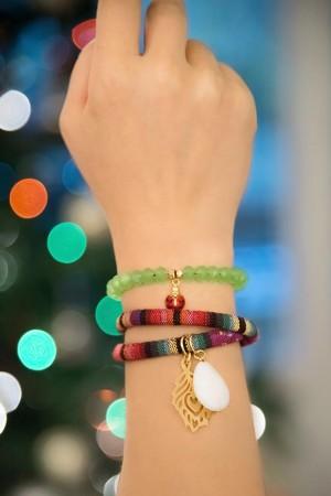 BAZAAR - COLORFUL WRAP - Renkli Dolamalı Bileklik (1)