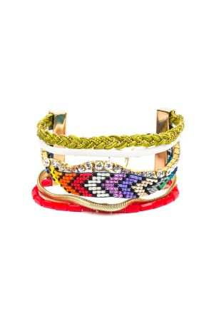PLAYGROUND - COLORS OF LIFE - Multilayered Bracelet