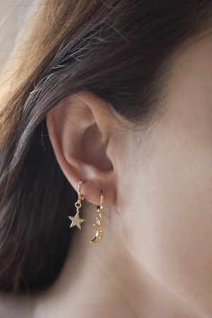 PLAYGROUND - COMETE - Star Earrings (1)