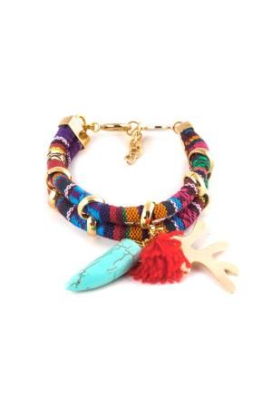 BAZAAR - CORAL - Multilayered Bracelet