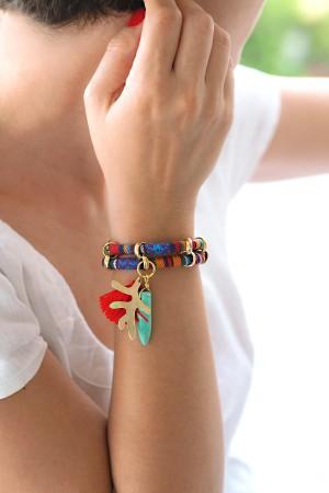 BAZAAR - CORAL - Multilayered Bracelet (1)