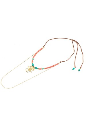 PLAYGROUND - CORAL - Multilayered Necklace (1)