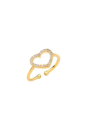 PLAYGROUND - CORAZON - CZ Heart Ring