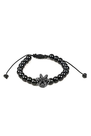 MANLY - CROWN ME - Beaded Bracelet