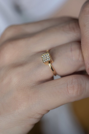COMFORT ZONE - CUBE RING - Adjustable Ring (1)