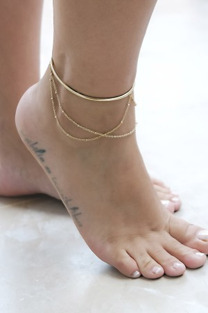 COMFORT ZONE - CUFF ANKLET - Halhal (1)