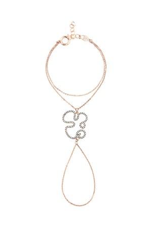 SHOW TIME - CURLY - CZ Slave Bracelet