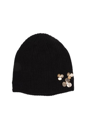 HAPPY SEASONS - CUTIE - Ribbed Wool Beanie