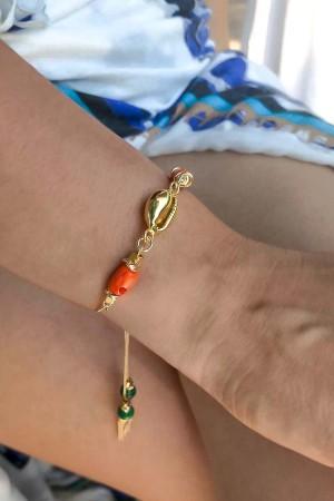 PLAYGROUND - CYPREA - Sliding Seashell Bracelet (1)
