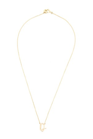 PETITE JEWELRY - D - Personalized Letter Necklace