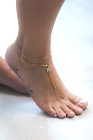 PLAYGROUND - DAISY - Foot Chain (1)