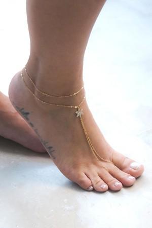 PLAYGROUND - DAISY - Foot Chain (1)
