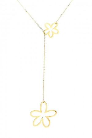 COMFORT ZONE - DAISY IN DAISY - Lariat Necklace