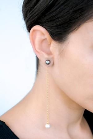 COMFORT ZONE - DANGLING PEARLS - Dangle Earrings (1)