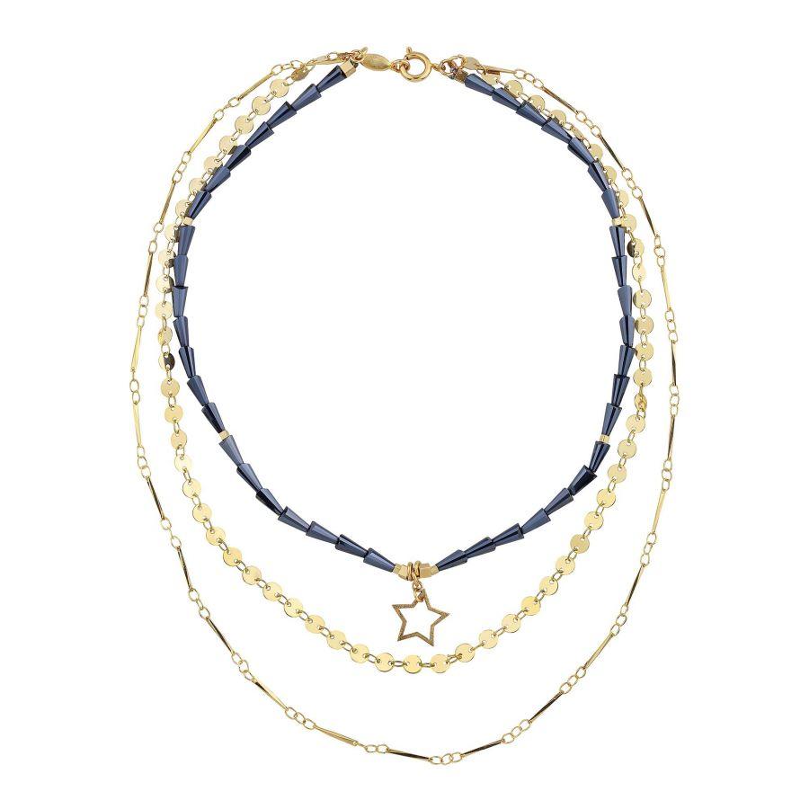 DARK STAR - Layered Statement Necklace