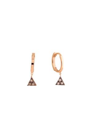 PETITE LUXE - DAZZLE - 14K Mini Huggie Hoop Earrings