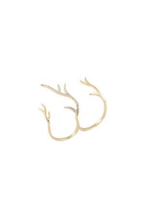 PLAYGROUND - DEER RING - Knuckle Duster Ring