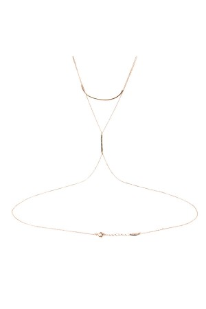 COMFORT ZONE - DELICATE ROSE - Body Chain