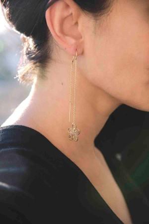 PLAYGROUND - DELICATE VIOLA - Dangling Earrings (1)