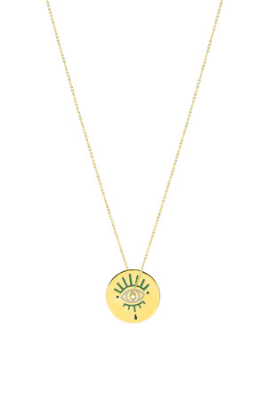 COMFORT ZONE - DERVISH EYE - M - Pendant Necklace