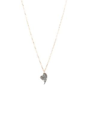 PETITE FAMILY - DIAMOND BEAT - CZ Heart Pendant Necklace (1)