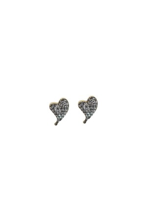 PETITE FAMILY - DIAMOND BEAT - CZ Heart Studs