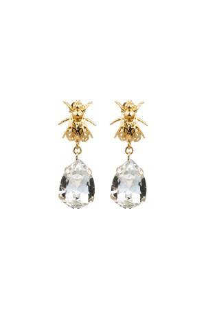 PLAYGROUND - DIAMOND BEE - Dangling Earrings