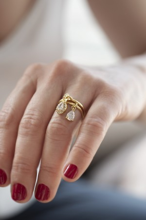 SHOW TIME - DIAMOND - Charm Ring (1)