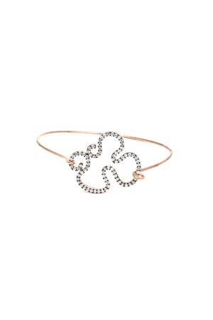 SHOW TIME - DIAMOND CURL - Cuff Bracelet