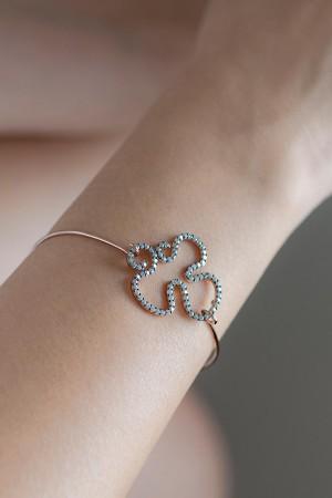 SHOW TIME - DIAMOND CURL - Cuff Bracelet (1)