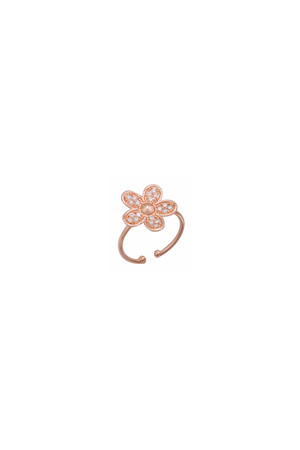 PLAYGROUND - DIAMOND DAISY - Adjustable Ring