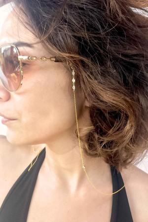 COMFORT ZONE - DIAMOND DROP - Eyeglass Chain (1)