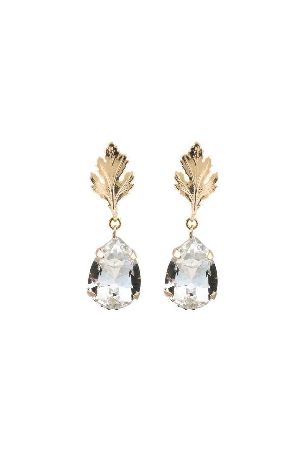 DIAMOND LEAF - Sallantılı Küpe
