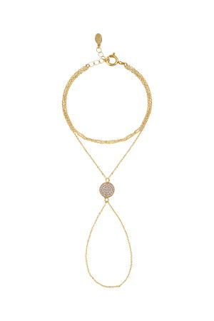 COMFORT ZONE - DIAMOND PLANETE - Finger Chain