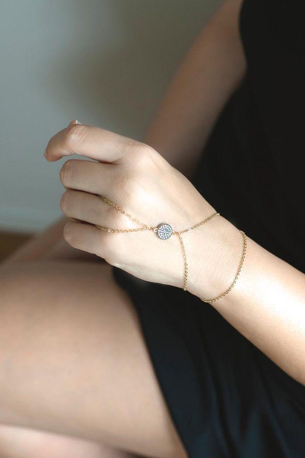 DIAMOND PLANETE - Finger Chain