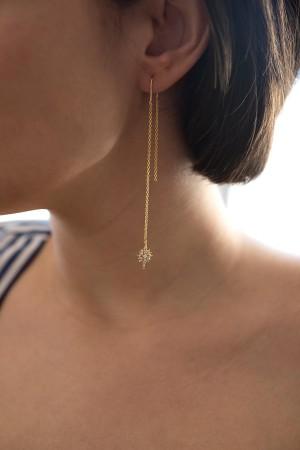 BAZAAR - DIAMOND STAR - Asymmetrical Earrings (1)