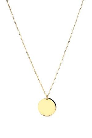 PETITE JEWELRY - DISC PLAIN - Gümüş Madalyon Kolye