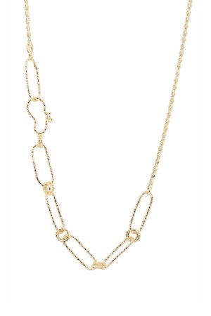 PETIT CHARM - DIVERSE - Asymmetrical Chain Necklace (1)