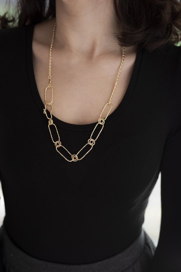 DIVERSE - Asymmetrical Chain Necklace