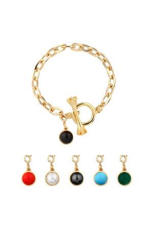 COMFORT ZONE - DOTS - Charm Bracelet