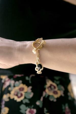 COMFORT ZONE - DOTS - Charm Bracelet (1)