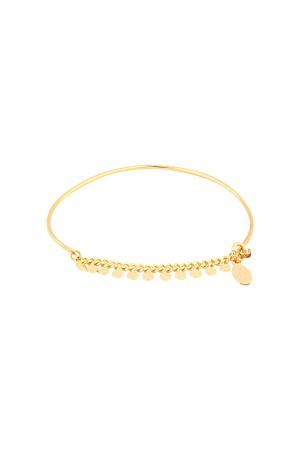 COMFORT ZONE - DOTS - Semi Cuff Bracelet