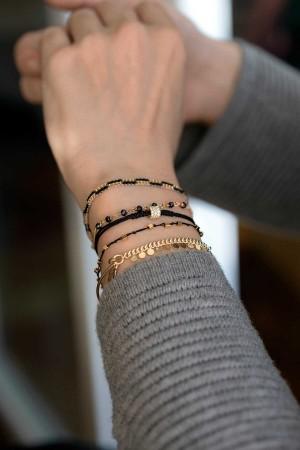 COMFORT ZONE - DOTS - Semi Cuff Bracelet (1)