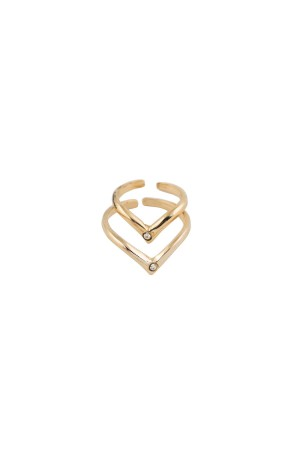 PLAYGROUND - DOUBLE V - Chevron Rings
