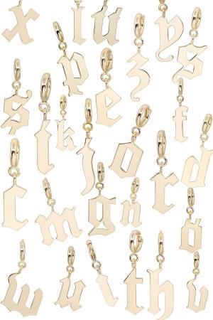 PETIT CHARM - DRAMA - Gothic Letter Charm (1)