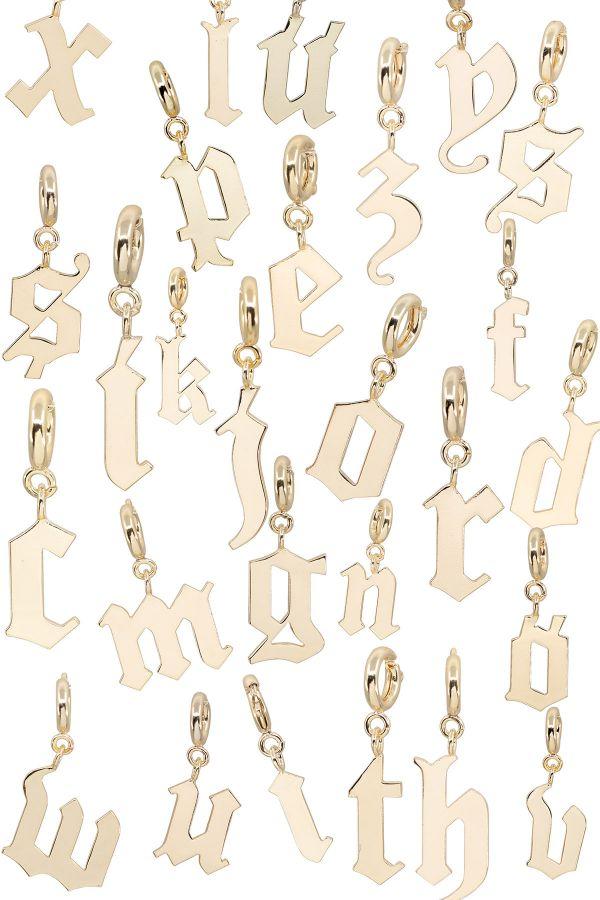 DRAMA - Gothic Letter Charm